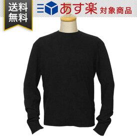 プラダ セーター PRADA UMA113 1GE5 F0002 メンズ クルーネック LANA CASHMERE F カシミヤ ウール NERO ブラック Mサイズ