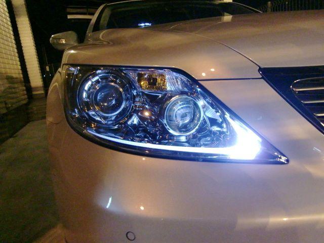 明るさ2,5倍!! LEXUS LS460 前期/CREE 5630 ポジションランプ 驚異