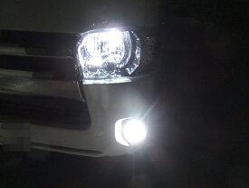 200系ハイエース 3型後期・4型・5型 [強烈な輝度 2500ルーメン] LEDフォグランプ/Epistar 3030 LED(ホワイト・イエロー)GDH・ KDH・TRH2##(H24.5〜)