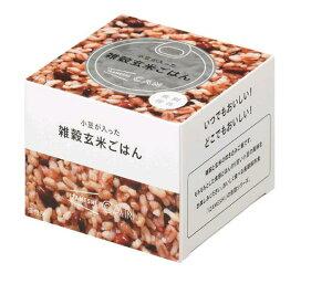 IZAMESHI イザメシ CAN 小豆が入った雑穀玄米ごはん (レトルト おいしい 保存食 備蓄 防災 プレゼント 内祝 一人暮らし 仕送り お中元 お歳暮 景品 おすすめ おしゃれ 人