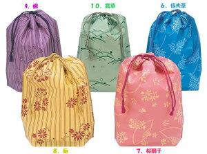 小紋巾着袋(単色500枚)【送料無料】