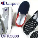 チャンピオン キッズ Champion CP KC003 ブラックモノグラム・グレー・ネイビー/レッド・トリコ