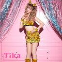 【max80%OFF】【あす楽 送料無料】お化けの日 Tika ティカ 鬼 セクシー タイトスカート コスチュームセット ブラック …