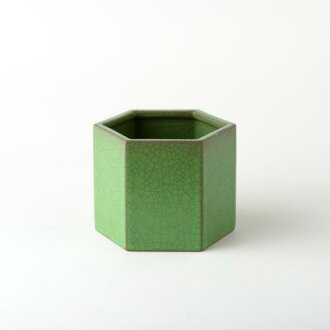 HASAMI HONEYCOMB POT SIZE 4 GREEN (SEASON2)