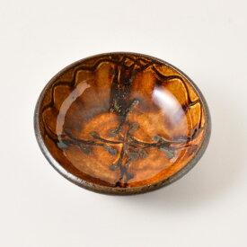 小代焼ふもと窯 ポン描き五寸鉢
