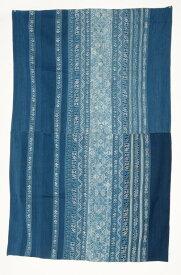 ベトナム モン族 藍染め刺繍布(オールド)