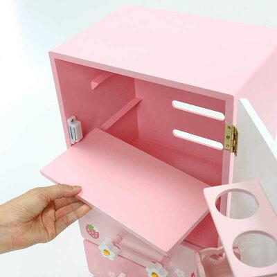 野いちごチルド冷蔵庫キューティ柄訳ありお得20マザーガーデンアウトレット木製おままごとキッチンおもちゃ知育玩具女の子ピンクお誕生日プレゼント3歳4歳安い