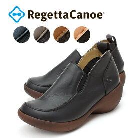 RegettaCanoe -リゲッタカヌー-CJAW-4301 アシンメトリーウェッジタイプ モカシンヒールシューズ