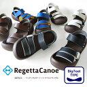 RegettaCanoe -リゲッタカヌー-CJBF-5171 ビッグフット ゴムバンドサンダル/メンズ ランキングお取り寄せ
