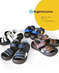 RegettaCanoe-リゲッタカヌー-CJBF-5171ビッグフットゴムバンドサンダル/メンズ