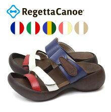 RegettaCanoe-リゲッタカヌー-CJEG-5224エッグヒールトリコロールエッグヒールサンダル