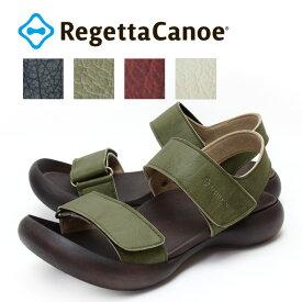 RegettaCanoe -リゲッタカヌー-CJFD-5332a フィールドソール バックベルト付きベルクロサンダル メンズ