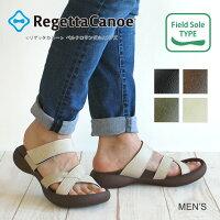 RegettaCanoe-リゲッタカヌー-CJFD-5362メンズフィールドソールベルクロサンダル