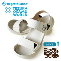 RegettaCanoeリゲッタカヌーx手塚コラボモデル!RCTZ-09ジャングル大帝レオフィールドサンダル/メンズ