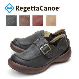 RegettaCanoe-リゲッタカヌー-CJFS-6910 フィールドシューズ メンズバックルベルトモカシンシューズ