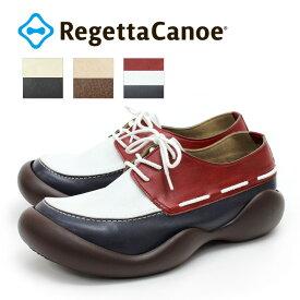 RegettaCanoe-リゲッタカヌー-CJOS-6410a オブリック レースアップモカシンシューズ