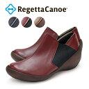 RegettaCanoe -リゲッタカヌー-CJWS-6715 ウェッジシューズタイプ ゴアヒールブーティ