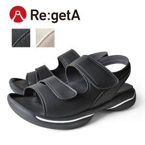 Re:getA -リゲッタ-JPR-010 グランスタイルベルクロサンダル/メンズ
