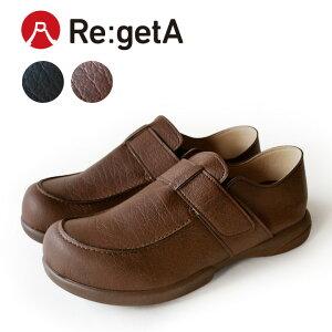 Re:getA -リゲッタ-ABR-184 ワンベルト ドライビングシューズ 歩きやすい メンズ