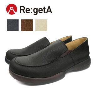 Re:getA -リゲッタ-R-277M 紳士靴 新ドライビングローファー メンズタイプ 日本製 歩きやすい 履きやすい