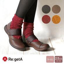 Re:getA-リゲッタ-R-321ワンベルトカジュアルシューズ