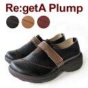 Re:getA Plump -リゲッタ プランプ-RP-1001 ステッチワンベルトセンターゴアシューズ