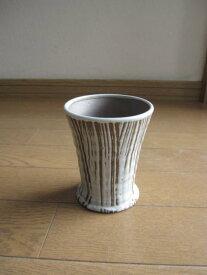 【信楽フリーカップ】 【ギフト】白糸信楽焼き