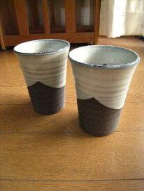 【信楽ビアーカップ】 【ビール】 ペアーコップ