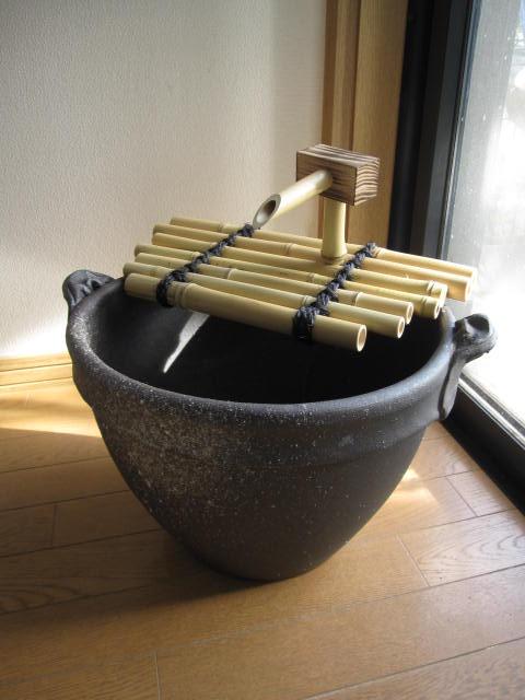 国産水鉢信楽焼き【送料無料】つくばい【蹲】 水の癒し 水鉢としても使用できます【ギフト 贈り物】