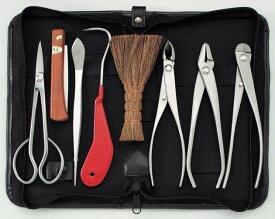 さびにくい道具【盆栽道具セット】ステンレス盆栽8点セット【送料無料】