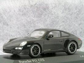 ミニチャンプス ミニカー 1/43 スケールポルシェ 911 (997-2 ) カレラ GTSバサルト ブラック メタリック