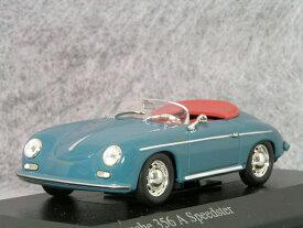 ミニチャンプス 1/43 スケールポルシェ 356A スピードスター 1956年 アトナ ブルー