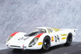 ミニチャンプス 1/43 スケールポルシェ 908L1969年 ルマン24時間レース No.64Herrmann / Larrousse
