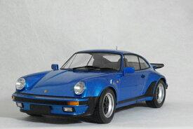 ミニチャンプス 1/12 スケールポルシェ 911 ( 930 ) ターボ1977年 ブルー メタリック