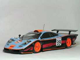 ミニチャンプス 1/18 マクラーレン F1 GTR 1997年 ル・マン24時間 ガルフ レーシング No.39