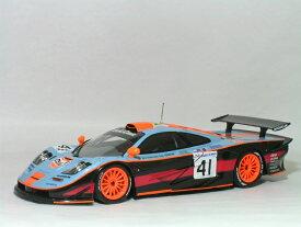 ミニチャンプス 1/18 マクラーレン F1 GTR 1997年 ル・マン24時間 ガルフ レーシング No.41