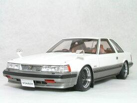 ignition モデルス 1/18 スケールトヨタ ソアラ ( Z10 ) 前期型2800GT リミテッド ライト カスタム仕様ホワイト / ゴールド