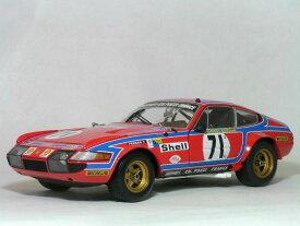 Kyosho 1/18 フェラーリ 365GTB/4 デイトナ コンペティツィオーネ / 1974年ルマン24時間 #71