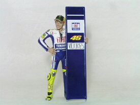 ミニチャンプス 1/12 スケールフィアット ヤマハバレンティーノ・ロッシモトGP 2010年 セパン 46 優勝記念
