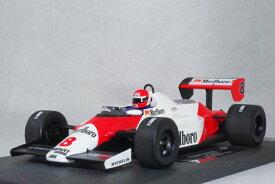 ミニチャンプス 1/18 スケールマクラーレン フォード MP4/1Cニキ・ラウダ 1983年 USA グランプリ WEST【 マルボロ タバコ バージョン 】オリーブ カスタム モデル