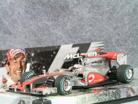 ミニチャンプス 1/43 マクラーレン メルセデス MP4-25 / ジェイソン・バトン 2010年 オーストラリア GP 優勝