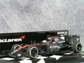 ミニチャンプス 1/43 マクラーレン ホンダ MP4-30 / フェルンナンド・アロンソ 2015年 ブリティッシュ GP