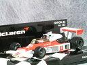 ミニチャンプス 1/43 マクラーレン フォード M23 / 1976年 日本 グランプリ( 富士 スピードウエイ )/ ジェームス・…