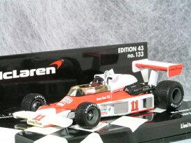 ミニチャンプス 1/43 マクラーレン フォード M23 / 1976年 日本 グランプリ( 富士 スピードウエイ )/ ジェームス・ハント