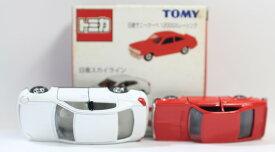 【USED】トミカ トイザらスオリジナル トミカ親子セット スカイライン サニークーペ1200GXレーシング 240001007867