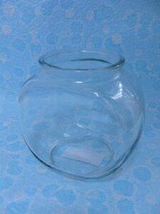 太鼓鉢 小 1.2L (ガラス 金魚鉢)