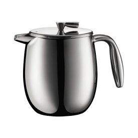 フレンチプレス コーヒーメーカー ドリップコーヒー ハンドドリップ ドリッパー コロンビア 500ml お家カフェ シルバー bodum ボダム 1105516