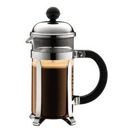 フレンチプレス コーヒー シャンボール コーヒーメーカー 350ml シルバー bodum ボダム 192316