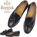 バーウィック タッセルローファー Berwick 靴 8491 ローファー スリッポン スペイン製 ビジネスシューズ メンズ 本革 …