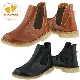 ダックフィート duckfeet DN4650 ダンスク DANSKE サイドゴアブーツ メンズ レディース カジュアルシューズ 本革 スリッポン 送料無料